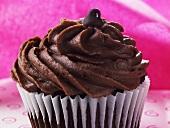Mocha Cupcake with Chocolate Chip