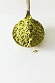 Spoonful of Green Tea Powder