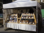 Bread Stall at Outdoor Market