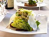 Romaine Salad with Jicama and Cheese