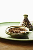 Harissa in a Moroccan Bowl