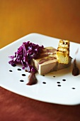 Fois Gras and Pork Terrine with Red Cabbage