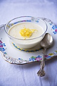 Bowl of Lemon Posset