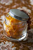 Small Jar of Candied Citrus Peels