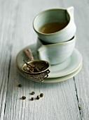 Jasmine Tea Pearls with Organic Tea Cups