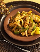 Indian Paneer and Vegetables