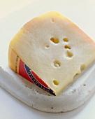 A Wedge of Jarlsberg Cheese