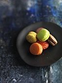 Macarons (Small French cakes)