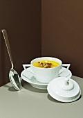 French pumpkin soup