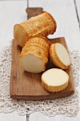 Oscypek (hard cheese made of sheep's milk, Poland)