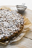 Panforte di Siena (honey-nut cake, Italy)