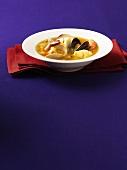 Saffron bouillabaisse