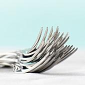 A stack of forks