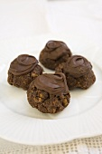 Afgan cookies (chocolate biscuits with nuts, New Zealand)