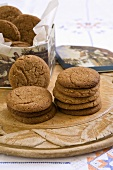 Ginger and nut biscuits