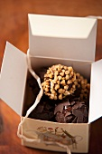 Praline - truffles in a box
