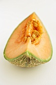 A slice of sweet melon