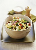 Orechiette with Mediterranean vegetables and mint