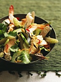Goi ngo sen (salad with lotus stalks and shrimps, Vietnam)