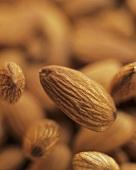 Several almonds