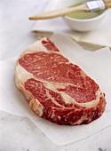 A beef steak