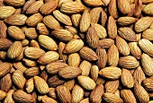 Almonds (filling the picture)