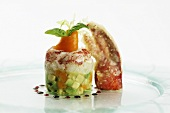 Tartare of Breton lobster, avocado with tamarillo & vanilla oil
