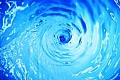 Swirling water (full-frame)