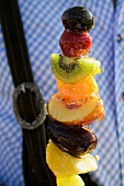 Candied fruit on skewer (Oktoberfest, Munich)