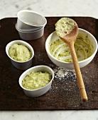 Home-made pistachio cream