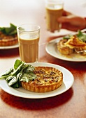Mini bacon quiche