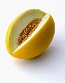 A honeydew melon