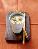 Gorgonzola dip with grissini