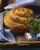 Turkish sesame bread