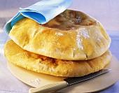 Pita bread with cumin