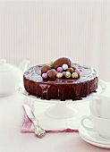 Chocolate cake for Easter