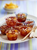 Jellies with tinned fruit