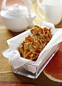 Apricot and almond slices