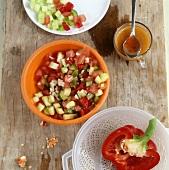 Pipirrana (Spanish summer salad)