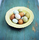 Still life with eggs