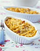 Macaroni cheese (America)
