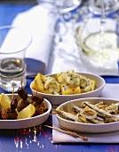 Antipasto veneziano (Sardines, polenta & meatballs)