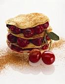 Cherry lasagne