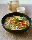 Vietnamesische Rindfleisch-Nudel-Suppe