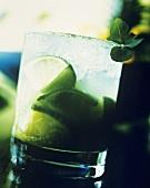 Ein Glas Caipirinha