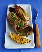 Bistecca e radicchio alla griglia (Grilled steak & radicchio)