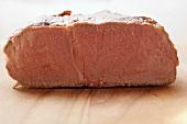 Ein aufgeschnittenes Stück Rinderfiletsteak