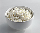 Small bowl of cottage cheese