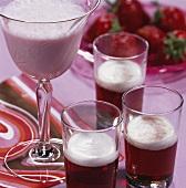 'Snood Murdekin' and white chocolate liqueur drink