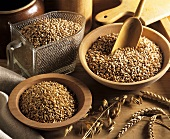 Still life with cereal grains